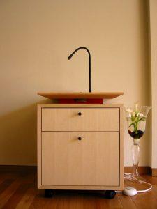 おしゃれな手洗い、松本建築(ナチュラルスペース) リフォーム