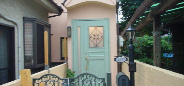 玄関ドア、塀 リフォーム