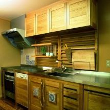 胡桃のキッチン